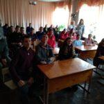 Навчання учнів старших класів Пилявської загальноосвітньої школи із надання першої домедичної допомоги.