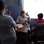 Проведені профілактичні щеплення на ФАПі с. Мшанець